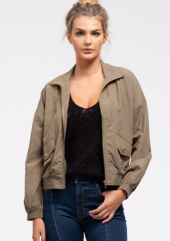 Off Duty Sage Jacket