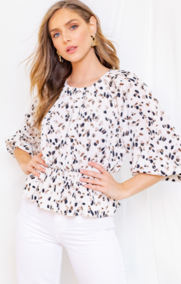 Touch of Fall Blouse