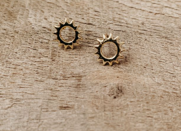 Sunshine Boho Stud Earrings