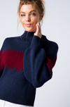 Boyfriend Mock Neck Sweater