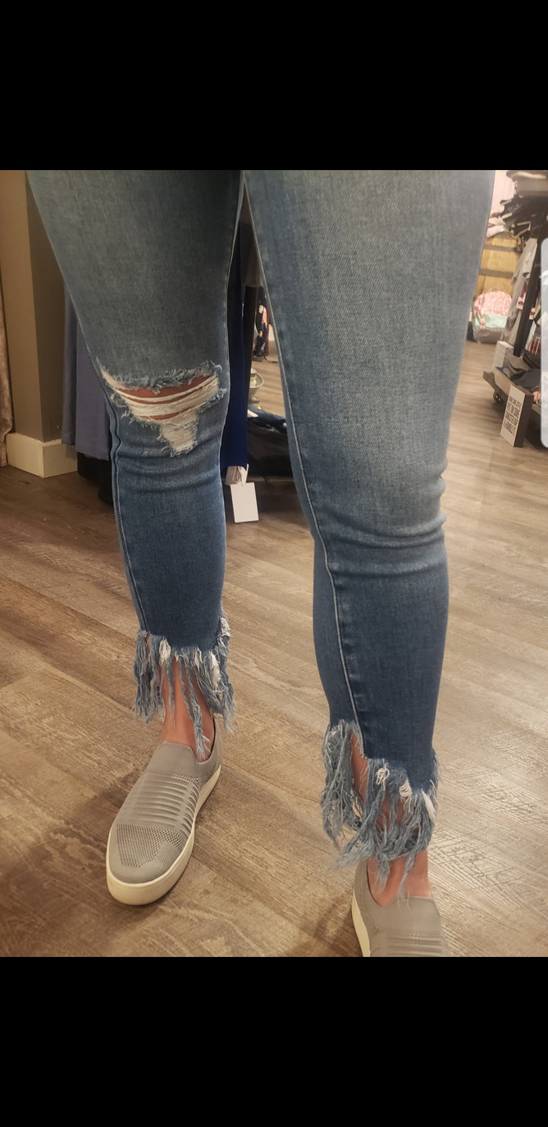 All About The Fringe Skinny Jean
