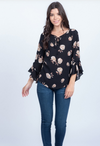Brunch For Two Ruffle Sleeve Top