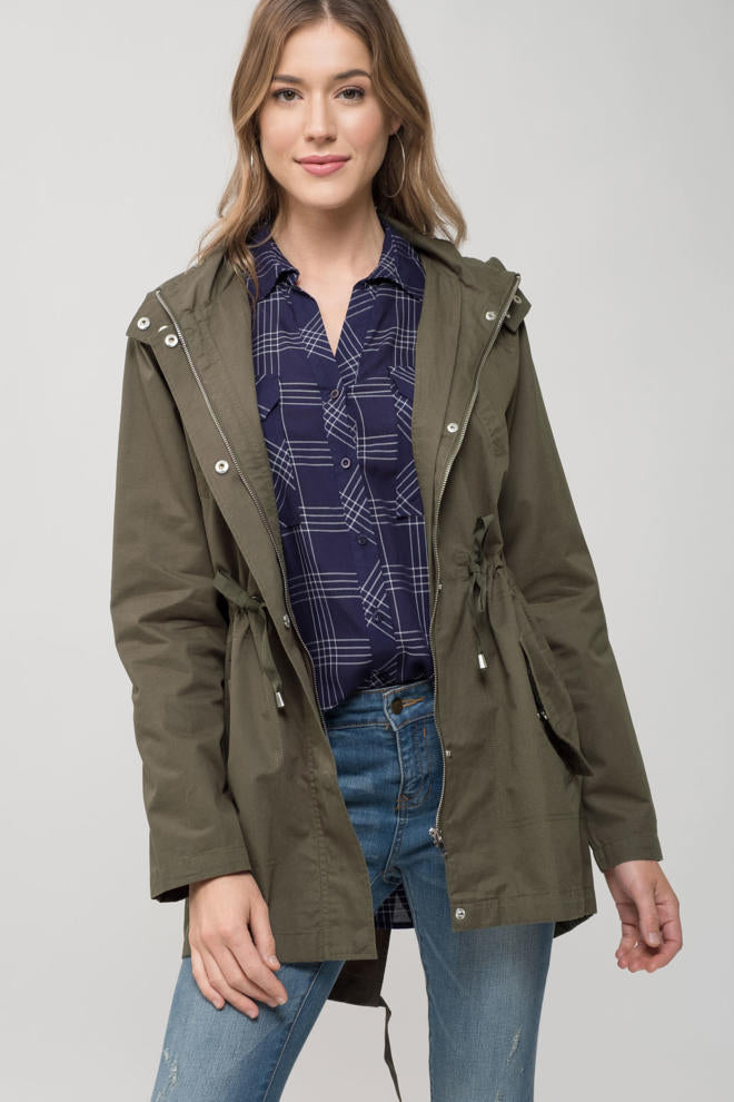 Keep Your Cool Olive Jacket