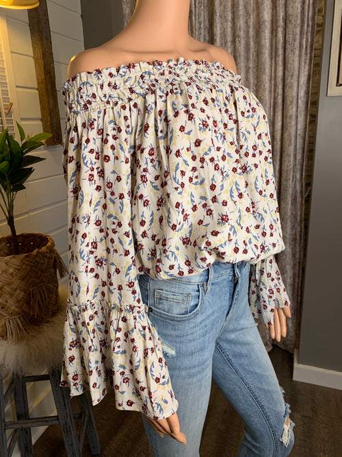 Night On The Town Off-The-Shoulder Top