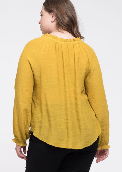 Sunny Day Blouse (Curvy Collection)