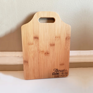 Mariah's Bamboo Cutting Boards