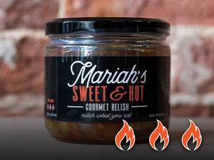 Mariah's Sweet & Hot Gourmet Relish