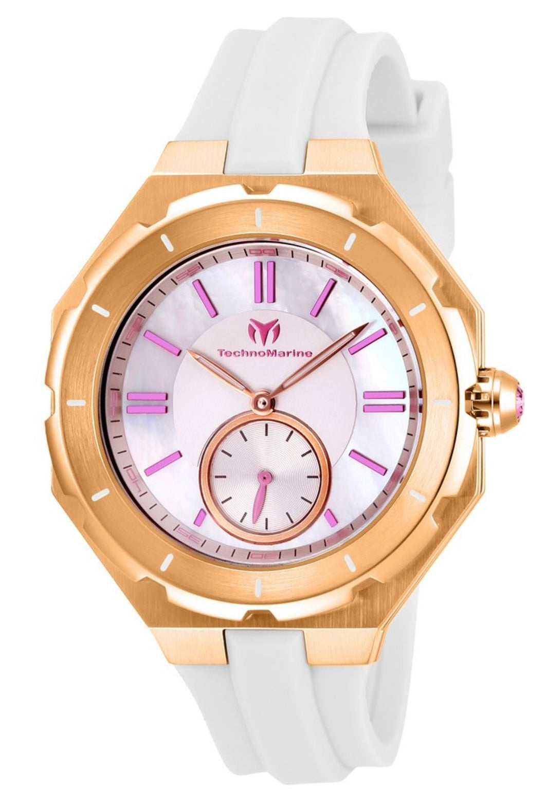 TECHNOMARINE CRUISE SEA LADY WOMENS 37.5MM MOTHER OF PEARL DIAL MODEL TM-118008 - Boutique Watches & More