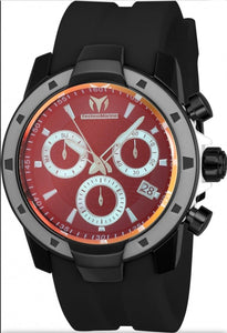 Technomarine UF6 Chronograph Quartz Black Dial Men's Watch TM-615007 - Boutique Watches & More