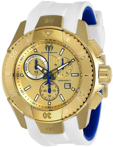 TECHNOMARINE UF6 MENS 48MM GOLD CASE METAL DIAL -MODEL TM-616004 - Boutique Watches & More