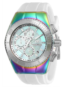 TECHNOMARINE CRUISE ORIGINAL 45MM WATCH WITH IRIDESCENT WHITE DIAL VD57 QUARTZ - MODEL 115368 - Boutique Watches & More