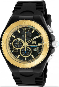 Technomarine Cruise Jellyfish Chronograph Quartz Black Dial Watch TM-115111 - Boutique Watches & More