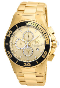 TECHNOMARINE SEA MANTA 44MM WATCH WITH GOLD GOLD DIAL OS10 QUARTZ - MODEL TM-215044 - Boutique Watches & More