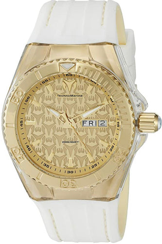 TechnoMarine  2 Men's 'Cruise Monogram' Swiss Quartz Stainless Steel Casual Watch (Model: TM-115152) - Boutique Watches & More