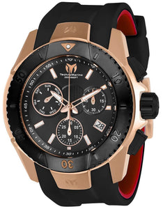 TECHNOMARINE UF6 MENS 48MM ROSE GOLD, BLACK CASE METAL DIAL -MODEL TM-616005 - Boutique Watches & More