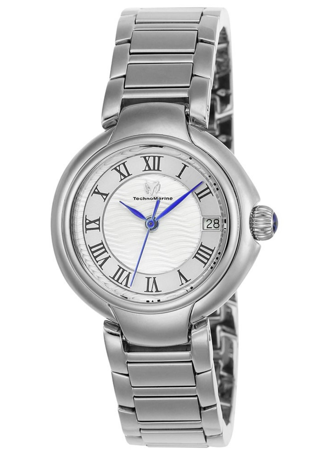TECHNOMARINE SEA WOMENS QUARTZ 32MM STAINLESS STEEL CASE SILVER DIAL - MODEL TM-716006 - Boutique Watches & More