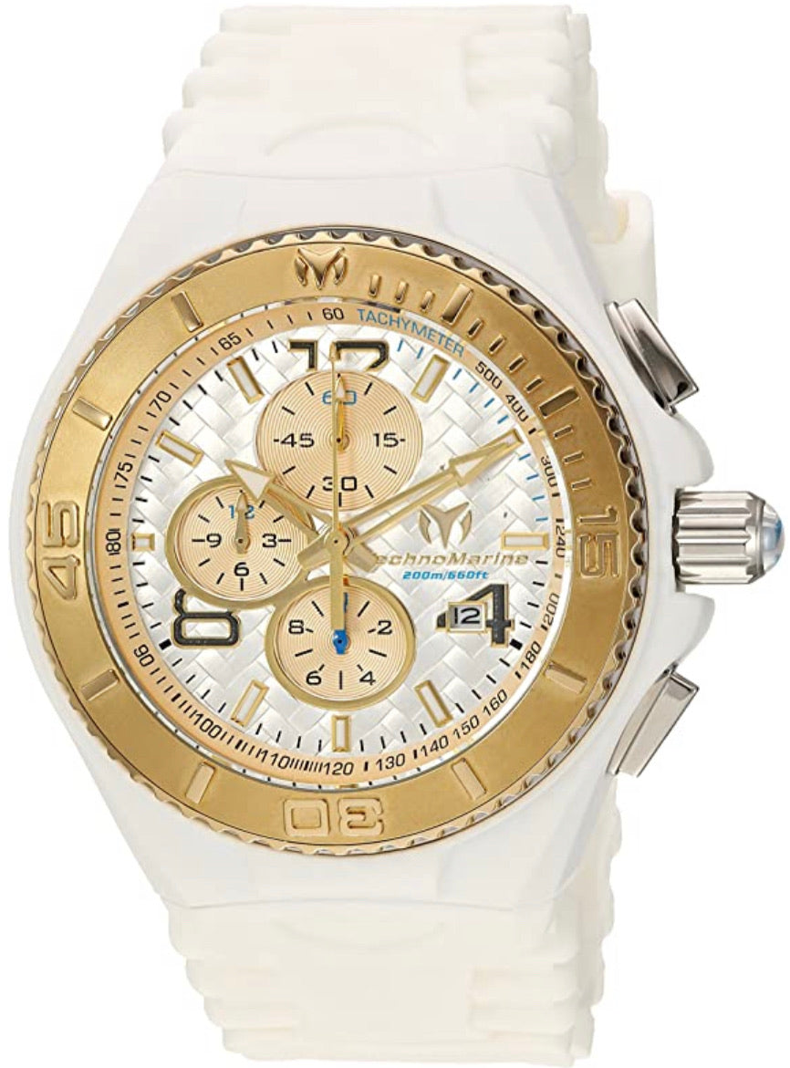 Technomarine Men's TM-115109 Cruise JellyFish Quartz Silver Dial Watch - Boutique Watches & More