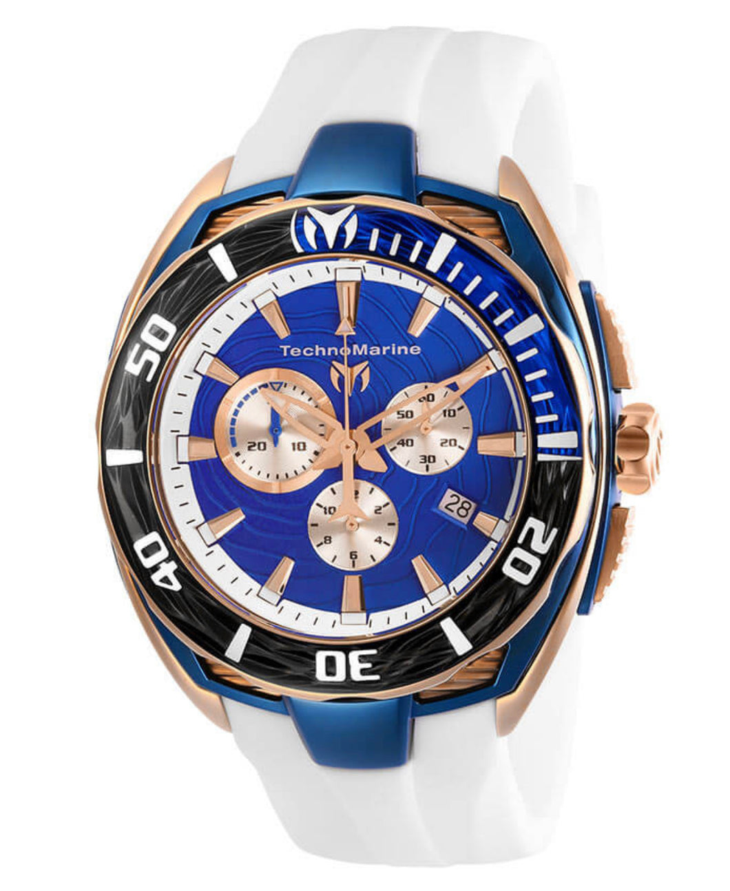 TECHNOMARINE CRUISE MENS QUARTZ 46MM - MODEL TM-118048 - Boutique Watches & More