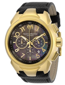TECHNOMARINE SEA MENS QUARTZ L, MOTHER OF PEARL, OYSTER DIAL - MODEL TM-718007 - Boutique Watches & More