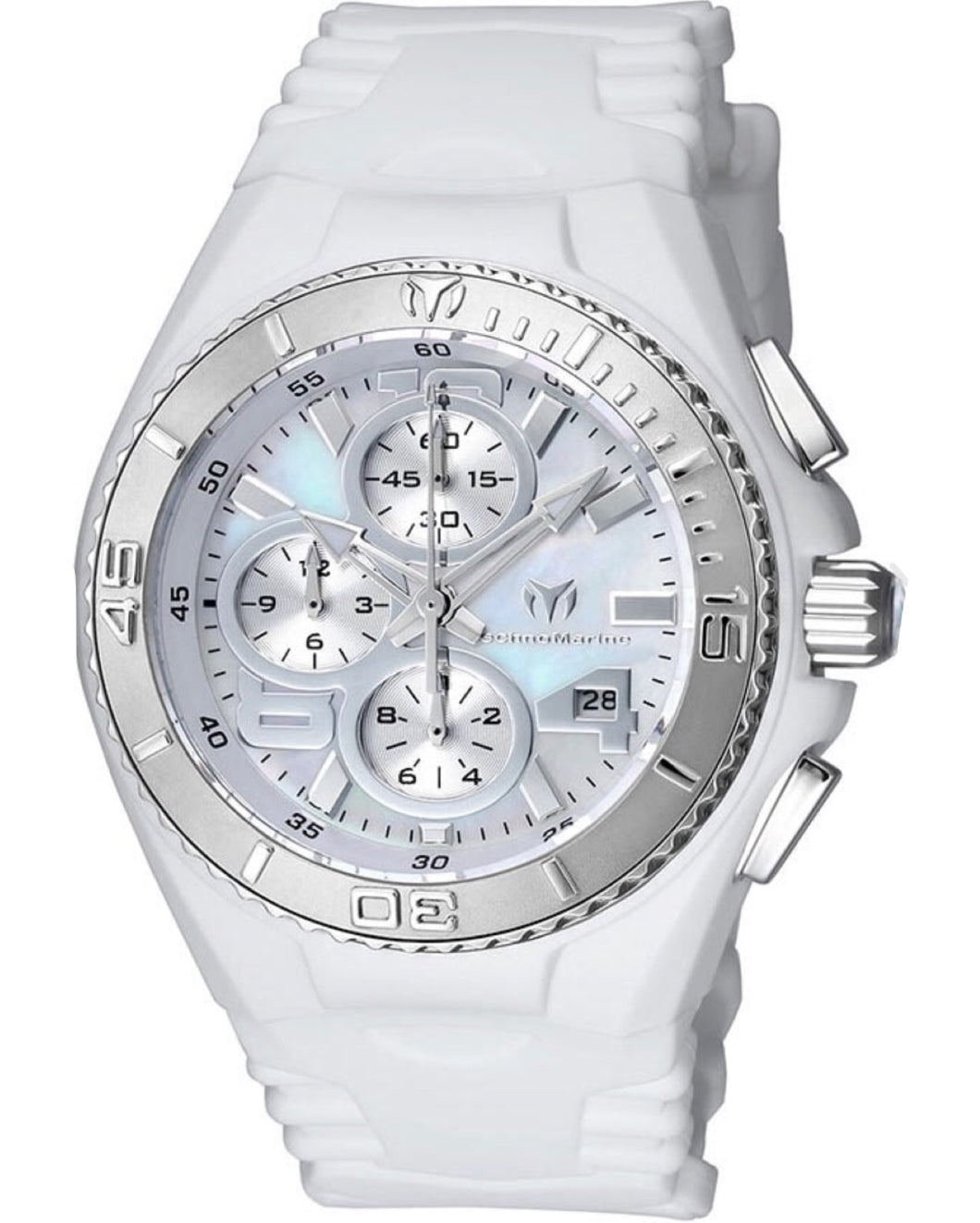 TECHNOMARINE CRUISE JELLYFISH 40MM WATCH WITH WHITE DIAL OS60 QUARTZ - MODEL 115259 - Boutique Watches & More