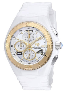 TECHNOMARINE CRUISE JELLYFISH 40MM WATCH WITH GOLD + SILVER DIAL OS60 QUARTZ - MODEL 115103 - Boutique Watches & More