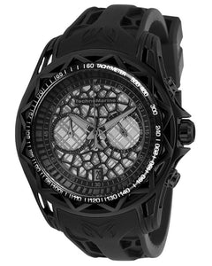 TECHNOMARINE MEN'S TM-318003 QUARTZ 3 HAND BLACK, GUNMETAL DIAL WATCH - Boutique Watches & More