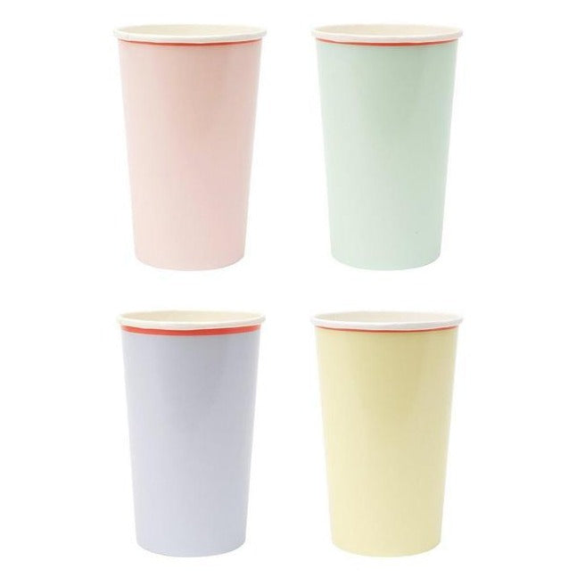 Pastel Neon Party Cups
