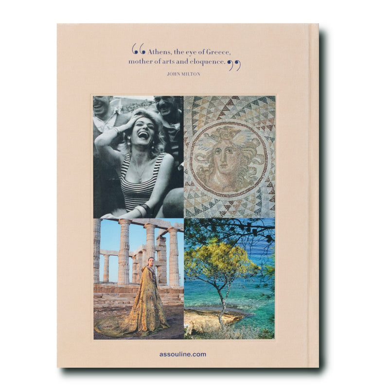 Athens Riviera Coffee Table Book