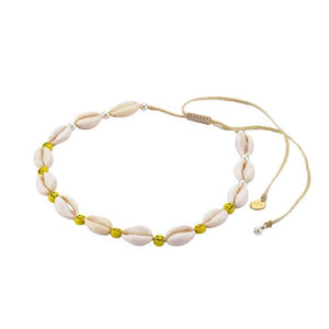 Smiley Shell Choker