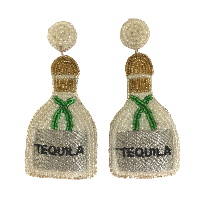 Beaded Tequila Earrings