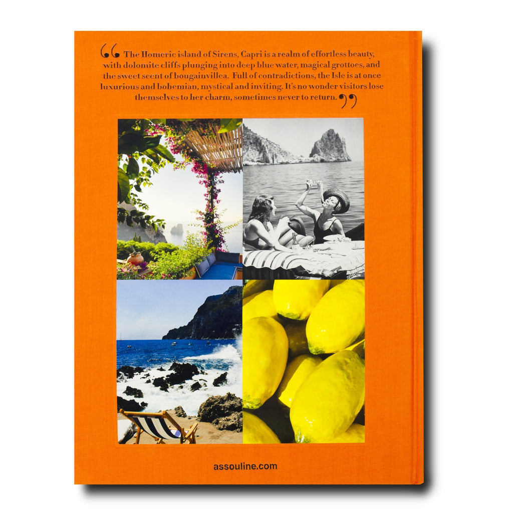 Capri Coffee Table Book