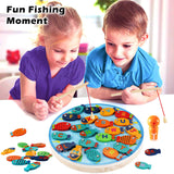 Wooden Magnetic Fishing Game