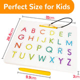 Magnetic Alphabet Tracing Board