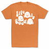 Bitty-Buda-Life-Is-Good-Men-T-Shirt-Orange