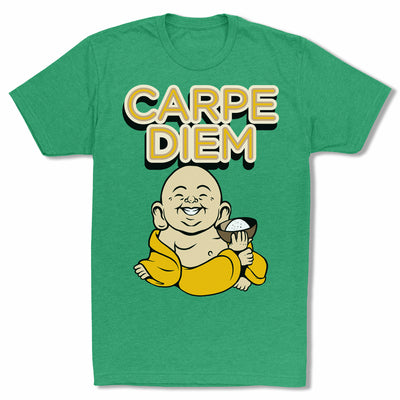 Bitty-Buda-Carpe-Diem-Men-T-Shirt-Green