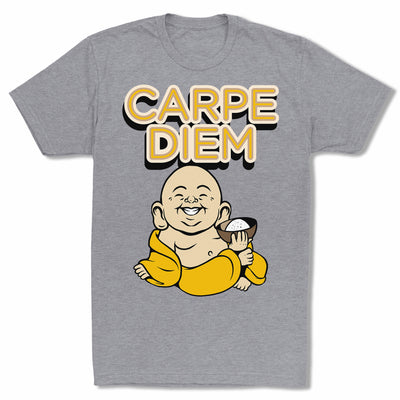 Bitty-Buda-Carpe-Diem-Men-T-Shirt-Grey