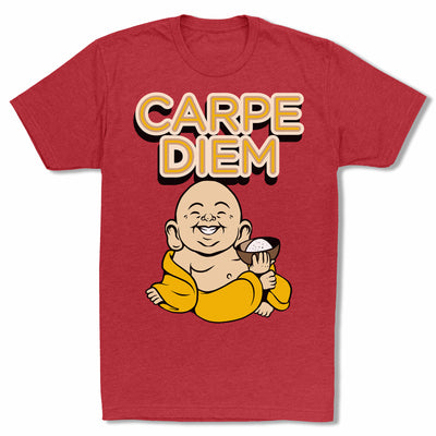 Bitty-Buda-Carpe-Diem-Men-T-Shirt-Red
