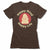 Happy-Mind-Happy-Life-Bitty-Buda-Women-T-Shirt-Brown