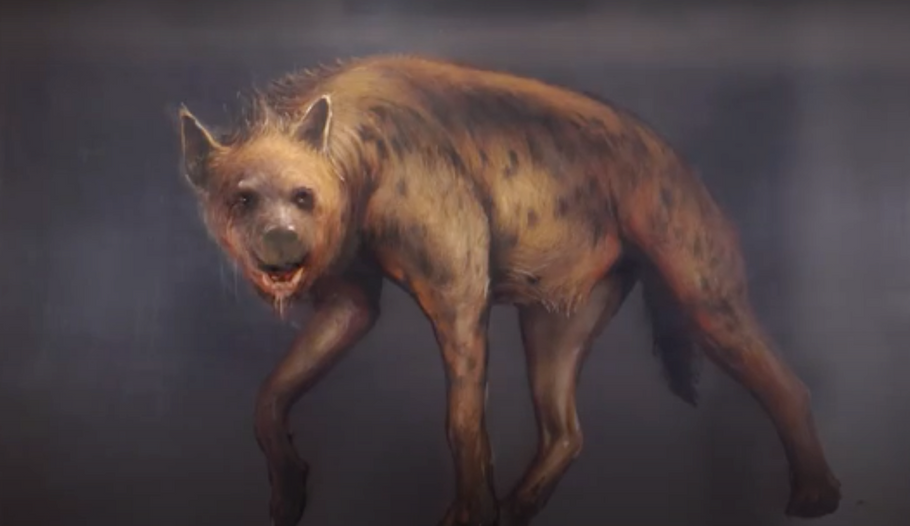Discover how artist Juan Miguel Palacio uses layering to create 'Hyena'