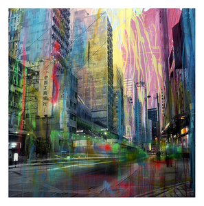 Hong Kong Panorama | Alberto Sanchez | Limited Edition