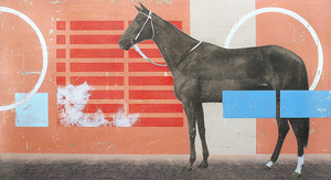 Horse | Kareem Rizk | Mixed Media