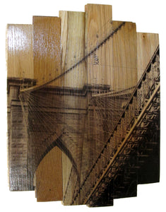 'Brooklyn Bridge II' | MK Semos & Hugo G. Urrutia | Mixed Media