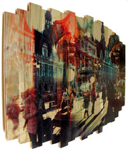 Load image into Gallery viewer, 'Paris Carousel I' | MK Semos & Hugo G. Urrutia | Mixed Media