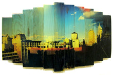 Load image into Gallery viewer, 'Water Towers' | MK Semos & Hugo G. Urrutia | Mixed Media