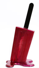 Load image into Gallery viewer, 'Red & Magenta Glitter Popsicle' | Betsy Enzensberger | Sculpture