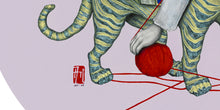 Load image into Gallery viewer, The Tiger and The String | Allison M Low | Drawing