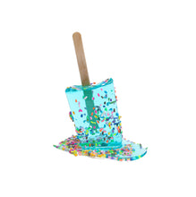 Load image into Gallery viewer, Aqua Sprinkle Pop #3 | Betsy Enzensberger | Sculpture