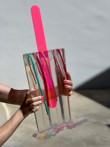 Crystal Clear Popsicle (Special Series - Custom Order Only) | Betsy Enzensberger | Sculpture