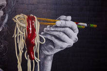 Load image into Gallery viewer, Noodle Queen | Gabriel Moreno | Drawing