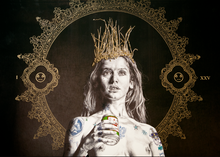 Load image into Gallery viewer, 'Queen's Time Out I - Beer Edition'  | Gabriel Moreno | Limited Edition Print